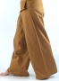 Thai-cotton-fisherman trousers, yoga trouser mustard color