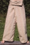 Thai-cotton-fisherman trousers, yoga trouser striped - 1