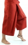 3/4 thai-fisherman trousers, yoga trouser red